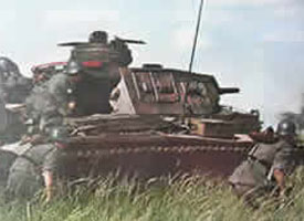 Panzers in the Ukraine