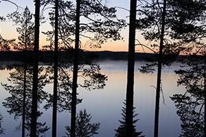 Finland, land of the midnight sun.