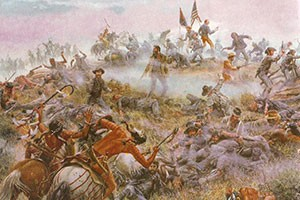 Custer Hill 25 June 1876.