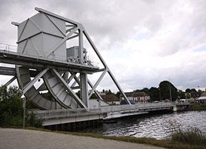 Pegasus Bridge today spanning the Orne Canal.