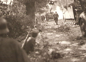 Attack by the SS Kampfgruppe Möller in September 1944.