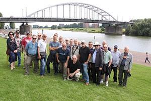 Our chosen vantage point to discuss the battle for the road bridge at Arnhem.
