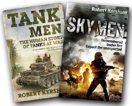 Robert has written ten books, also now in paperback with titles printed in the UK, US, Germany, Holland, Russia, Lithuania, Spain, Hungry, Poland and Australia.