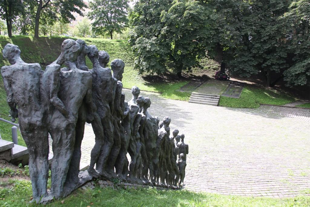Monument for Fallen Jews.
