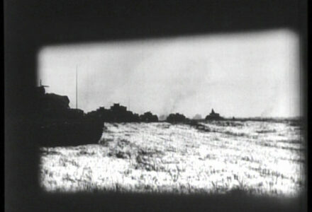 Hugo Landgraf films the final assault through his turret movie camera.