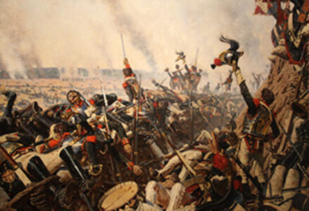 The French capture the Raevsky Redoubt, a pyric victory.